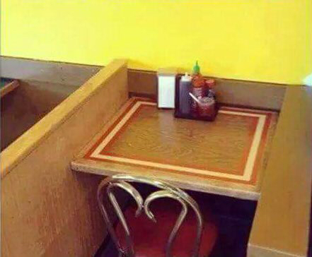 My Reservation for V-Day is ready