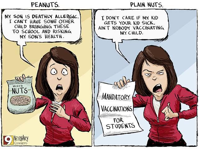 Peanuts vs Plain nuts
