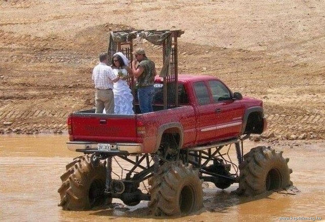The most redneck wedding in Southern history