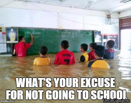 do you even school?