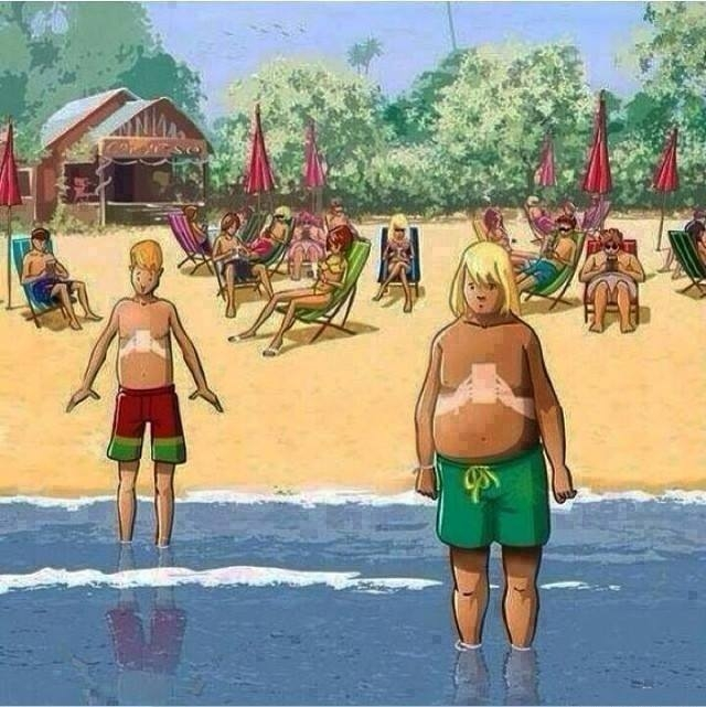 The tan-lines of the next generation.