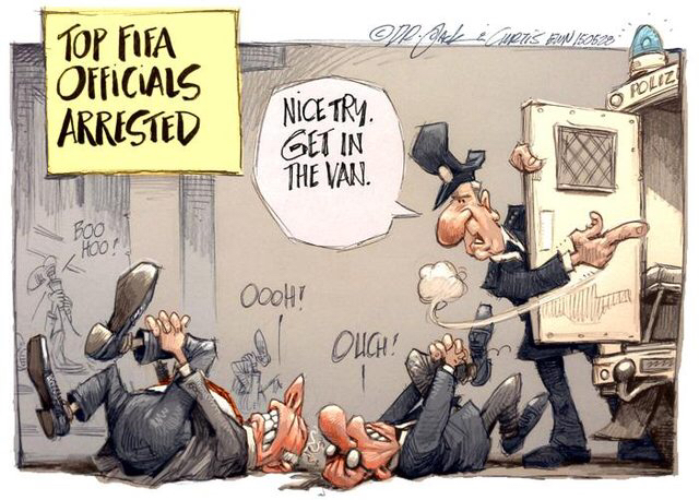 Meanwhile at FIFA Headquarters