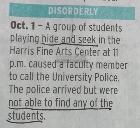 Pro hide and seek