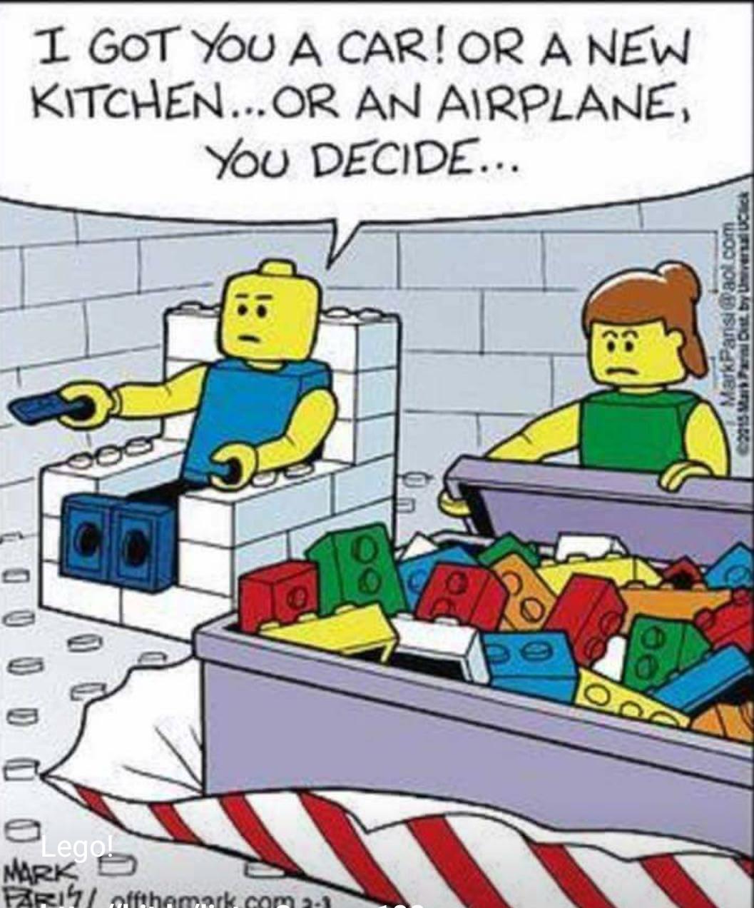 Lego relationship