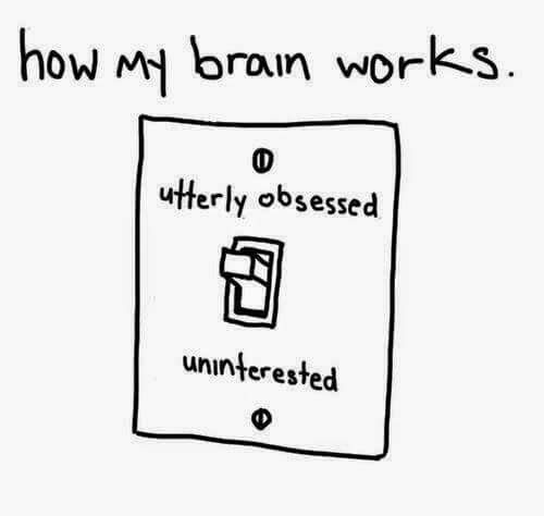 How my brain works.