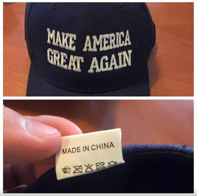 FAIL Make America Great Again