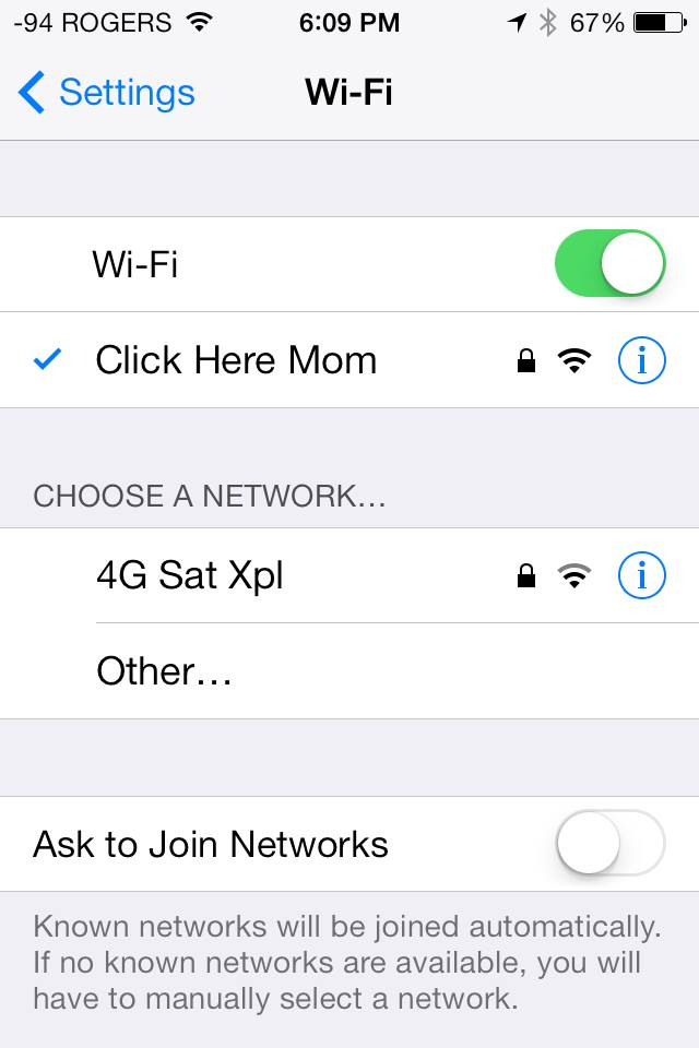 Setting up wifi for your elderly parents