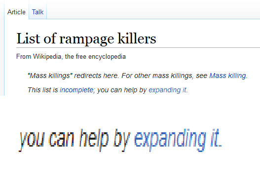 Wikipedia is whispering to me