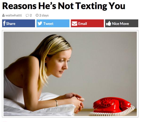 Reason Wrong type of phone