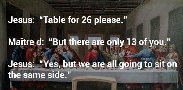 Table for 26 please