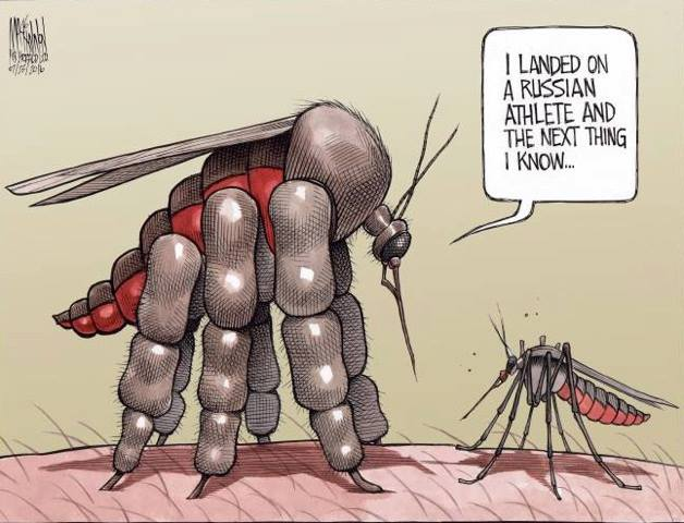 mosquito-that-russian-athlete-tasted-funny